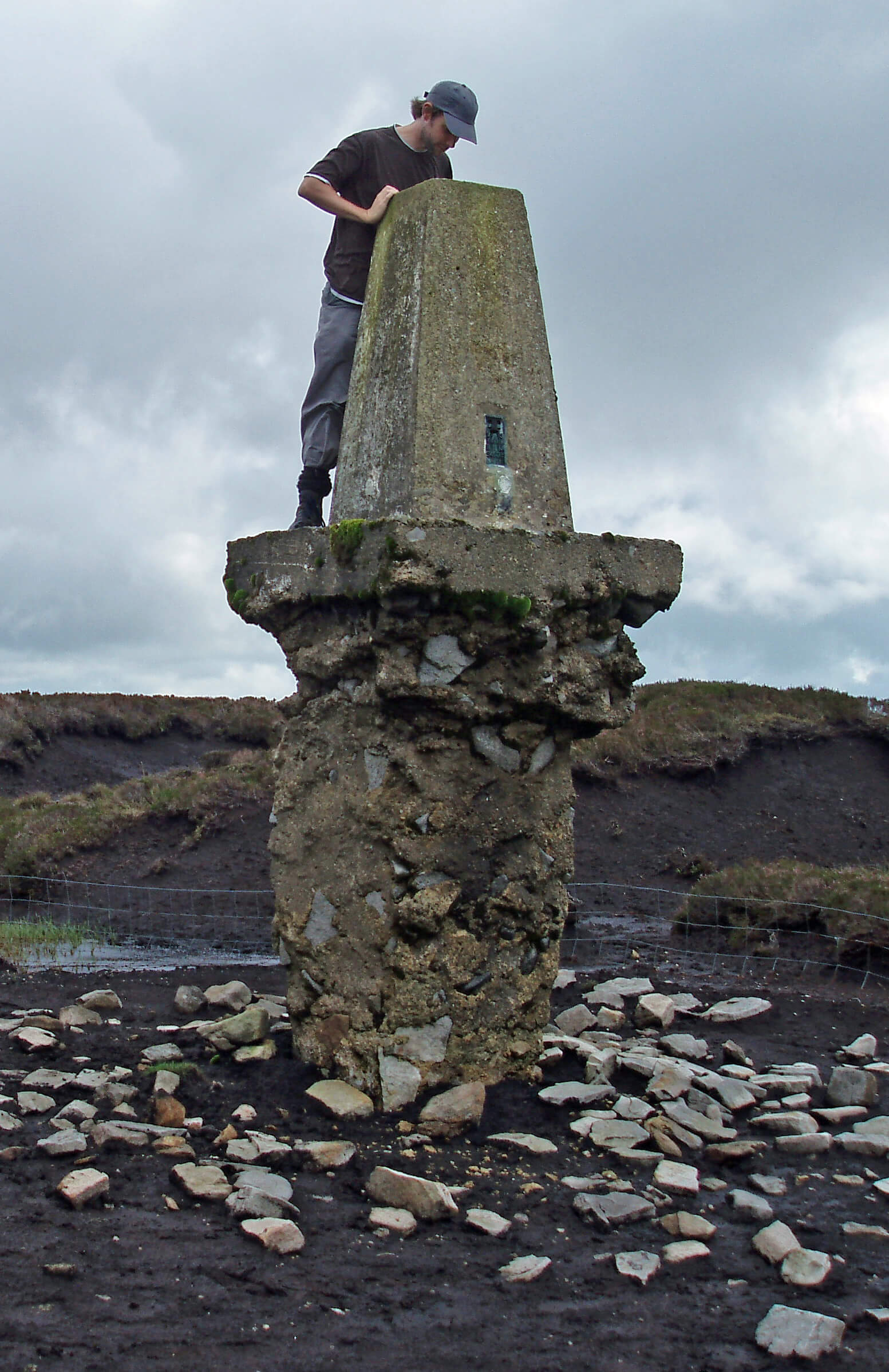 Hawthornthwaite trig point